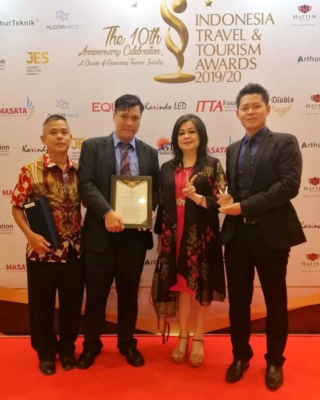 The Duck King Group Win Indonesia Travel & Tourism Awards 2019/2020