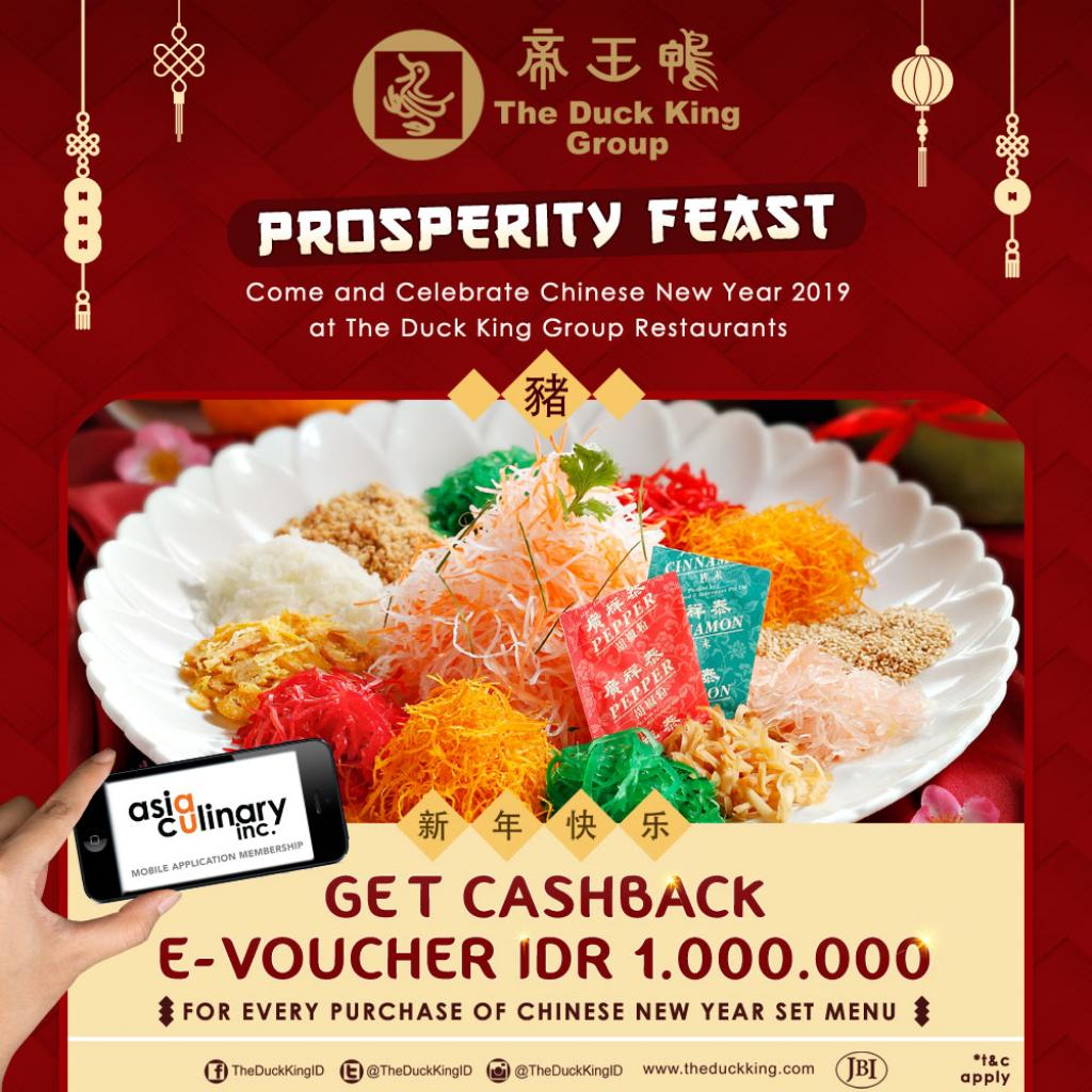 Special Promo Imlek The Duck King Group