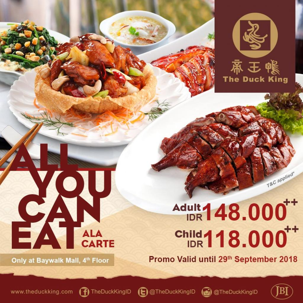 All You Can Eat Ala Carte