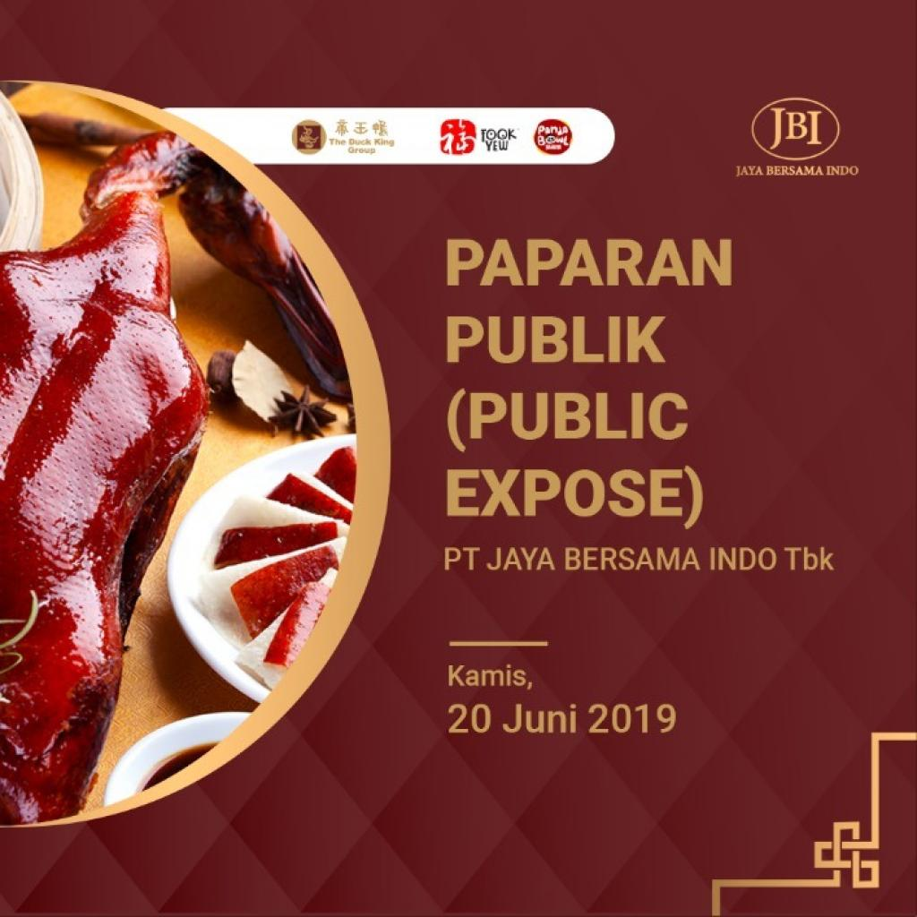 Paparan Publik/Public Expose