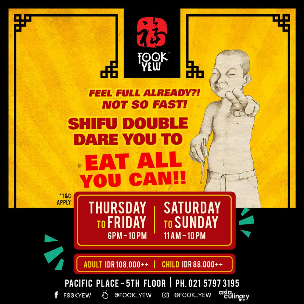 FOOK YEW: PROMO ALL YOU CAN EAT ALA CARTE