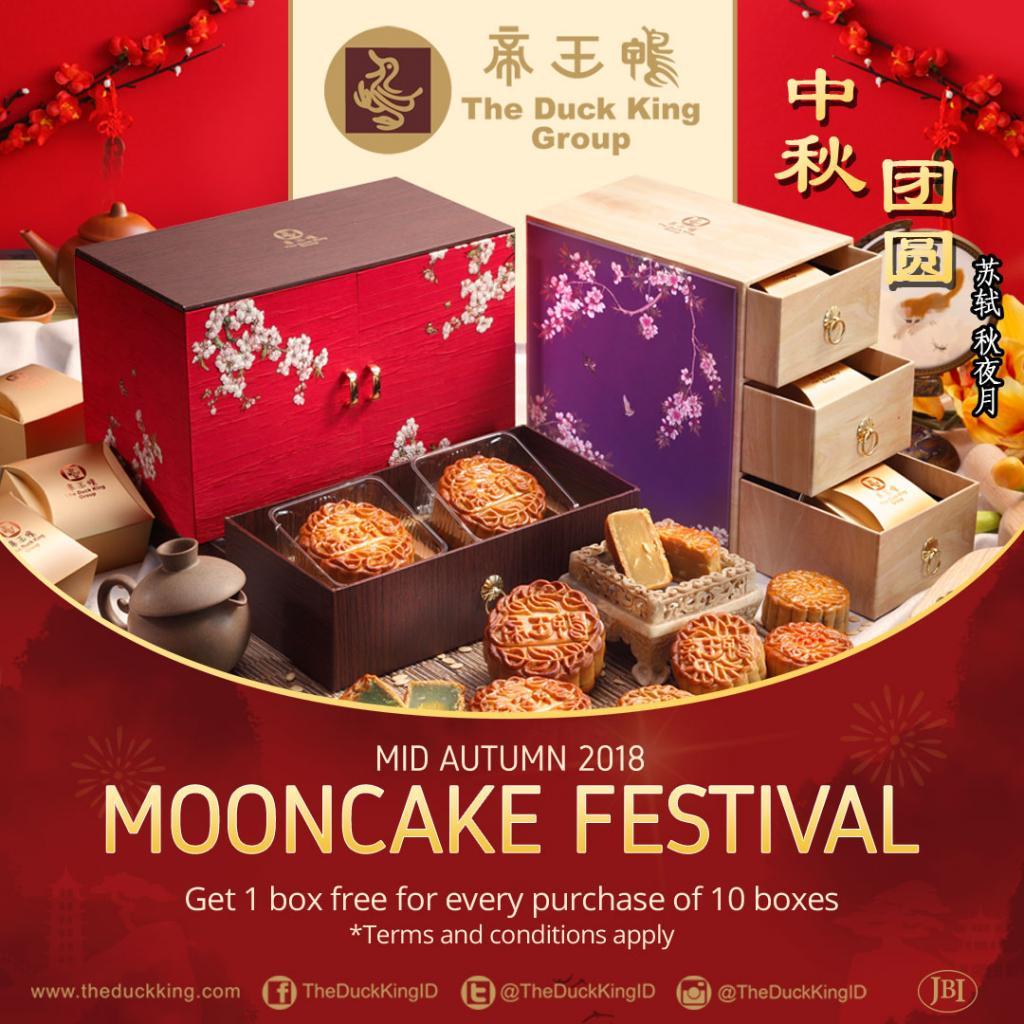 Festival Mooncake 2018